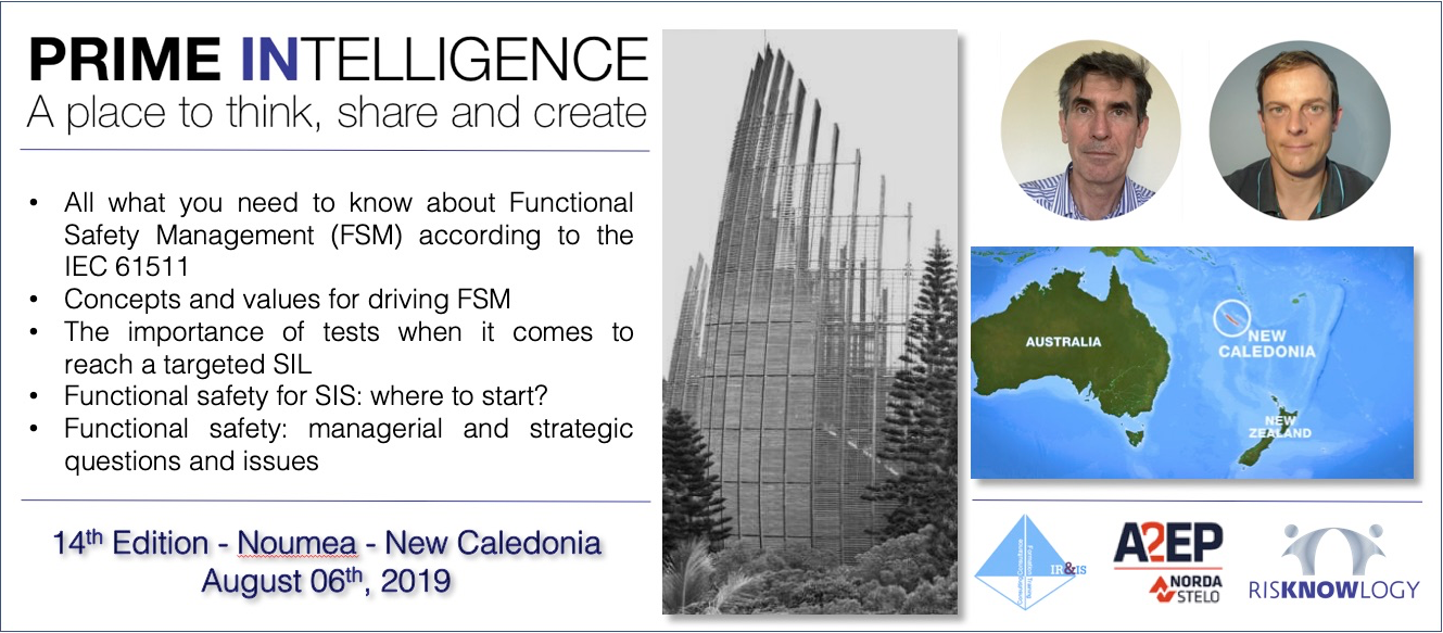 14th PRIME INTELLIGENCE Nouméa New Caledonia
